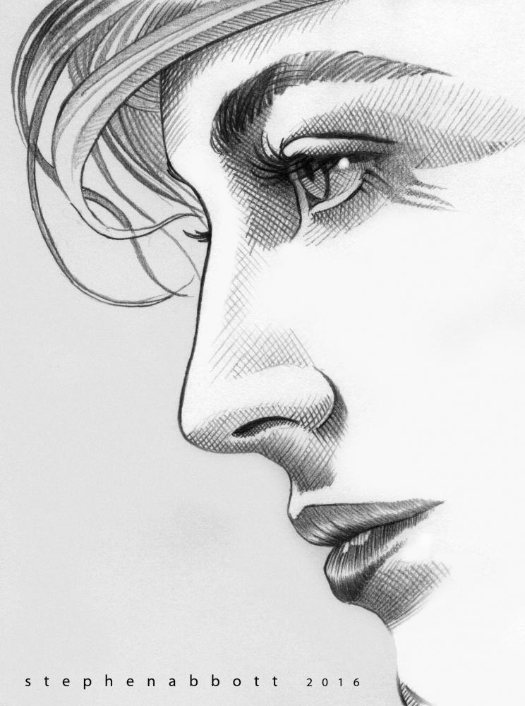 Ava Gardner by StephenAbbott
